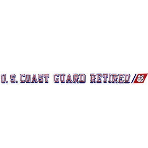 U.S. Coast Guard Retired Clear Window -