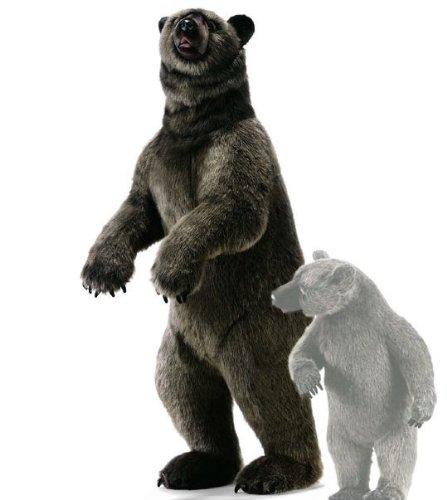 Hansa Life Size Grizzly Bear Stuffed Animal ()