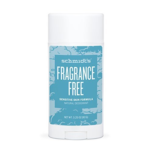 Schmidt's Deodorant Sensitive Skin Formula Fragrance-Free 3.25 oz. sticks - 3PC ()