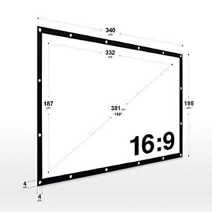 170 x 127 cm eSmart Germany MIMOTO Motor-Leinwand 4:3 84 Gr/ö/ßenauswahl Programmierbare Fernbedienung Heimkino elektrische Beamer Projektionsleinwand Motor Leinwand LCD LED Vollmaskierung
