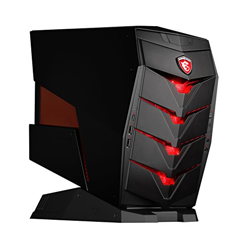 MSI VR Ready Aegis-068US Powerhouse Gaming Desktop Geforce GTX 1060 i5-6400 6GB 128GB SSD + 1TB Windows 10