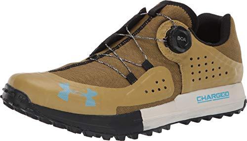 (Under Armour Syncline Hiking Shoe - Men's Palm Green/Black/Capri, 10.5)