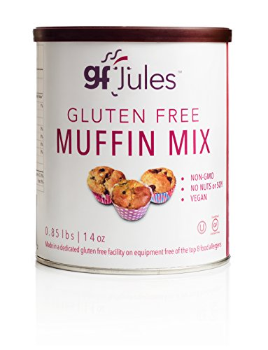 (gfJules Gluten Free Muffin Mix - Voted #1 by GF Consumers 0.85 lbs, Pack of 1)