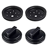 Garbage Disposal Splash Guard and Stopper Sink Baffle for Waste King,Whirlaway, Sinkmaster and GE Models Food Waste Disposer Accessories -2 Pack