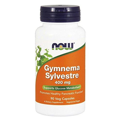 NOW Gymnema Sylvestre 400 mg,90 Veg Capsules