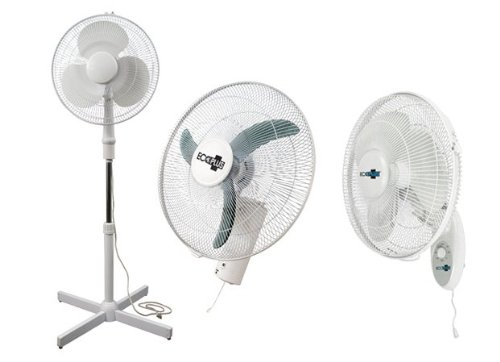 Amazoncom ECOPLUS 16 INCH WALL MOUNT FAN 736505 Industrial
