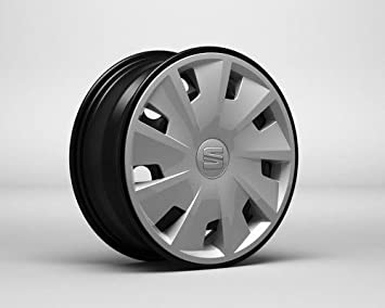 Image Unavailable. Image not available for. Colour: 4x Seat wheel covers, hub caps set, 15 inches