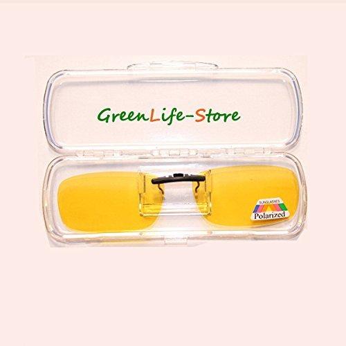 de amarillo antirreflejos hombre y libre Gafas UV400 para Cosprof de de clip mujer nbsp;para polarizadas aire sol conducción q1wUZ
