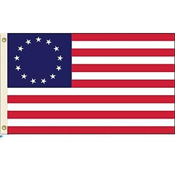 BETSY ROSS 3 x 5 bandera de poliéster