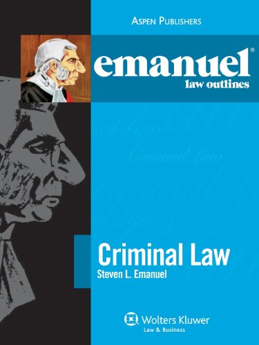 Criminal Law Elo 2010 (Emanuel Law Outlines)