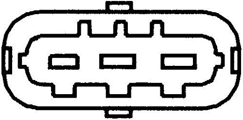 Kurbelwelle HELLA 6PU 009 110-661 Impulsgeber Anschlussanzahl 3
