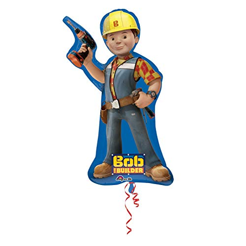 Bob The Builder Supershape Foil Mylar Balloon (1ct)
