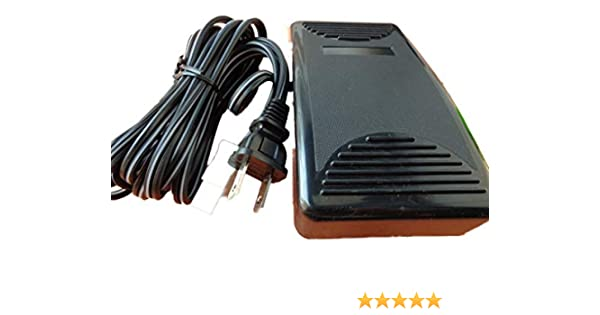 FOOT CONTROL PEDAL W// Cord Janome NewHome 134D 1506 1508 1518 2014 2015 2018