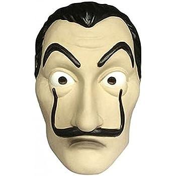Dali Mask Salvador LA CASA De Papel | Money Heist | Realistic Movie Prop Face Mask