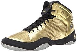 Asics Men's Jb Elite Iii Wrestling Shoe, Rich Goldblack, 11 Medium Us