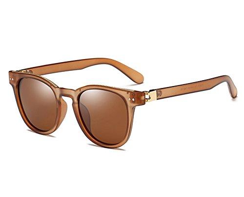 TL Lunettes Guide Sunglasses de Air homme Plein Lunettes hommes Revêtement brown de de soleil lunettes soleil cadre ovale vue Lunettes polarisé 0wwHrdYq