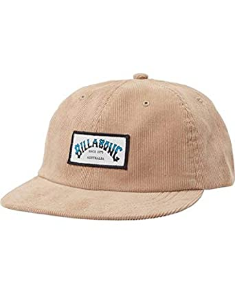 BILLABONG Hombres Re Issue Cord Gorra de béisbol - Beige -: Amazon ...