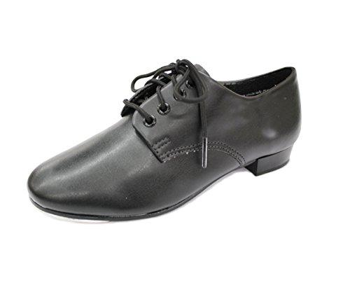 Full Up Tap Black Shoe Beginners Lace Pvc Bqxn00d