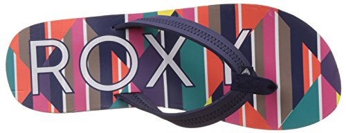 Roxy Vista J Sndl Mlt - Sandalias de dedo Mujer Varios Colores - Mehrfarbig (Multi)