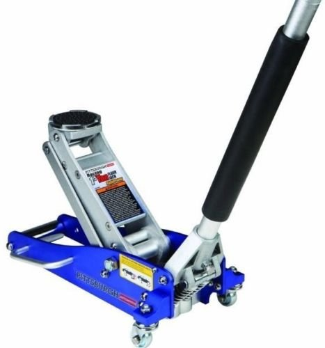 1.5 Ton Low Profile Compact Aluminum Racing Floor Jack Rapid Pumpar Auto by Supershop®