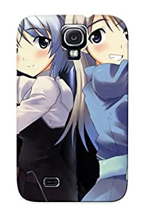 Kathewade Shock-dirt Proof Strike Witches Case Cover Design For Galaxy S4 - Best Lovers