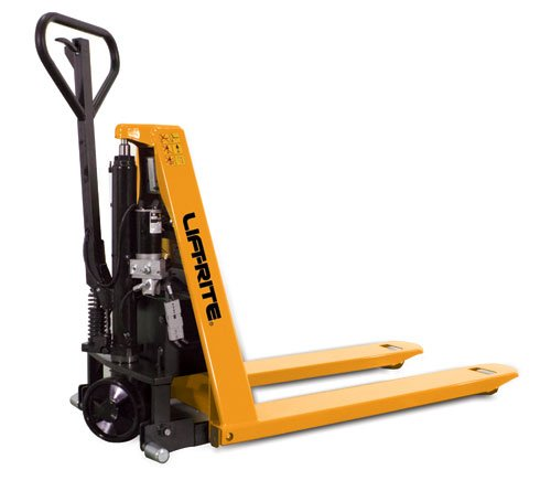 Lift-Rite Ergo-Lift Battery-Powered Pallet Positioner Pallet Truck - 3000-Lb. Capacity - 27X48'' by Lift-Rite