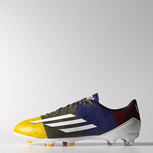authentic sale online adidas F10 FG Messi - M21764 Graphite-blue-yellow clearance low shipping fee cheap sale get to buy mZALp