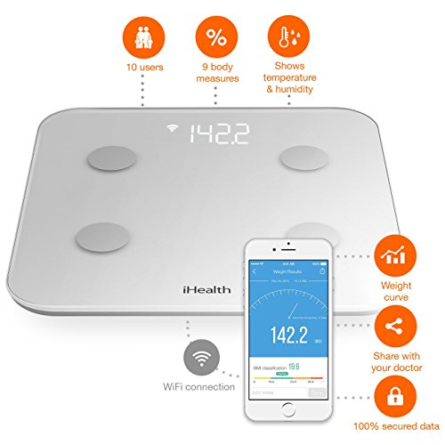 IHealth Core Wireless Body Composition Scale for Apple and Android