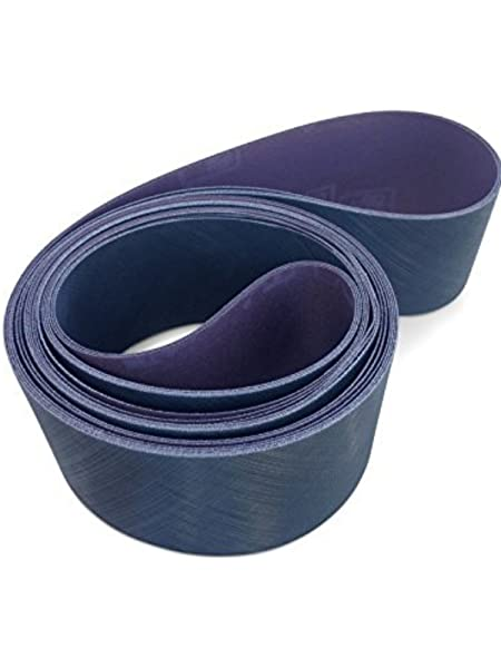 3M Trizact Cloth Belt 237AA Gray Aluminum Oxide Dry Only A100 Grit 3 Width x 132 Length Pack of 50