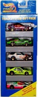 Hot Wheels - Track System Gift Pack - 5 Car Set