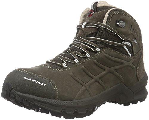 Mammut Nova Mid Ii Gtx, Zapatos de High Rise Senderismo para Mujer Marrón (Bark-white)