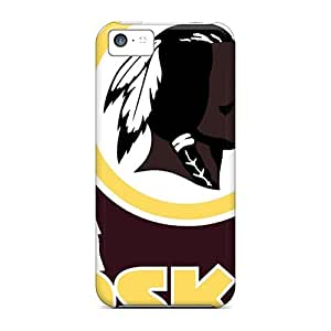 AnnaDubois Iphone 5c Excellent Hard Phone Case Support Personal Customs Colorful Washington Redskins Series [eGM1338QJcW]