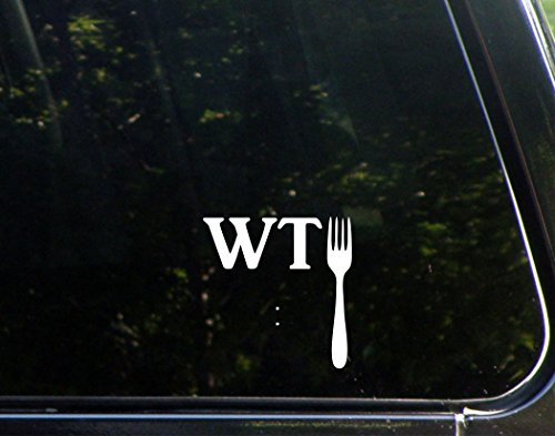Sweet Tea Decals What The Fork - 3 3/4