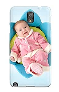 Fashion DmtXnBR3510FLVKH Case Cover For Galaxy Note 3(cute Newborn Baby)