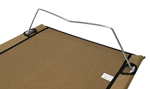 Go-Kot Regular Portable Folding Camping Cot, Coyote Brown by Go-Kot (Image #4)