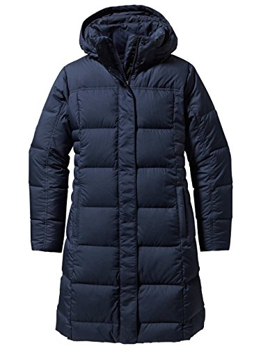 Amazon.com: Patagonia Women's Down With It Parka Black 2 LG ...