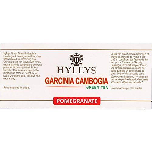 Hyleys Wellness Garcinia Cambogia Green Tea Pomegranate 100