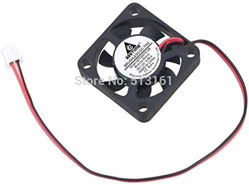 50Pcs Gdstime 30mm 12V 2Pin 3cm 30x30x7mm Mini Brushless DC Cooling Fan 3007