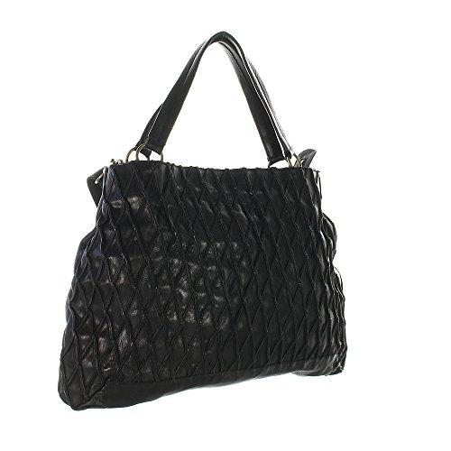Another Bag - Bolso al hombro para mujer negro negro
