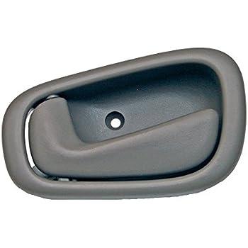 1998 2002 chevy prizm lh left hand gray drivers inside door handle 1999 2000 2001. Black Bedroom Furniture Sets. Home Design Ideas