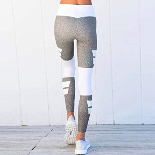 Tempo Blau Leggins Libero Pantaloni Tuta Palestra Donna Sportivi High Estivi Lunghe Betrothales Waist Eleganti Pants P64w4