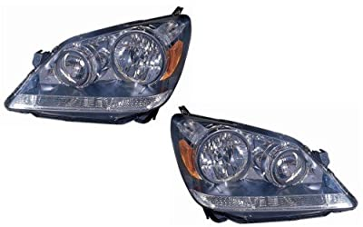 Honda Odyssey Replacement Headlight Assembly (Crystal Inner Lens) - 1-Pair