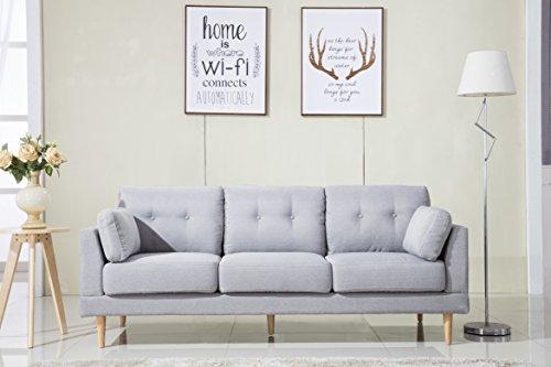 mid-century-modern-ultra-plush-linen-fabric-sofa-color-dark-grey-and-light-grey-light-grey