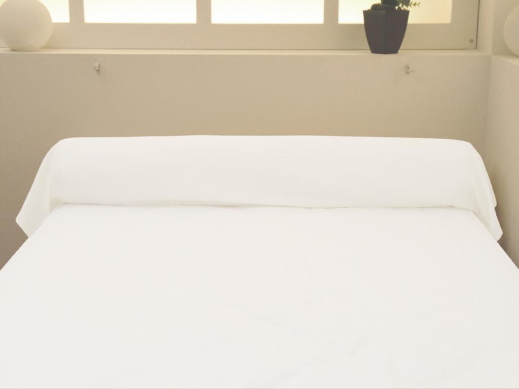 Soleil dOcre 554826 Taie dOreiller Rectangulaire 57 Fils Coton Uni Anthracite//Gris 50 x 75 cm