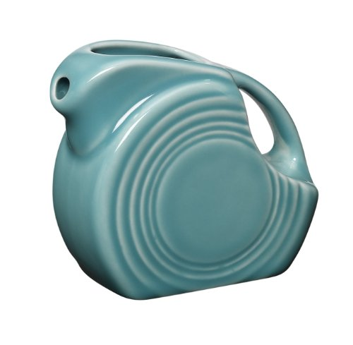 Fiesta 5-Ounce Mini Disk Pitcher, Turquoise