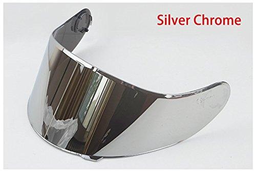 TORC T28/T28B Vcan V271/V271B Motorcycle Helmet Shield (Silver)