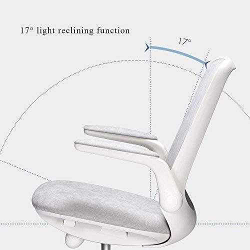 Datorstol, hem komfort skrivbord lyft stol kontor svängbar stol komfort student sovsal spelstol ergonomisk stol 62 x 62 x 102 cm knästol