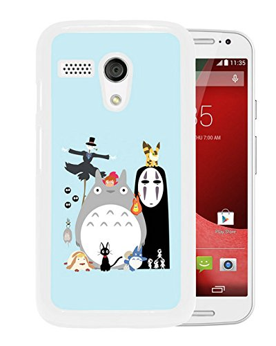 Amazon.com: Motorola Moto G 1st My Neighbor Totoro 3 White ...