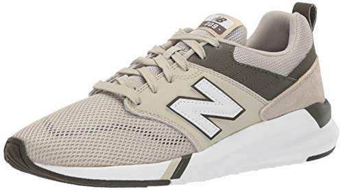 (New Balance Men's 009 V1 Sneaker, Stoneware/Moonbeam/Buttermilk, 14 4E US)