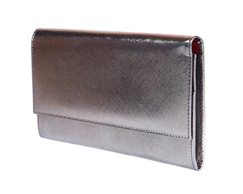 SAGEBROWN Silver Travel Wallet by Sage Brown (Image #2)